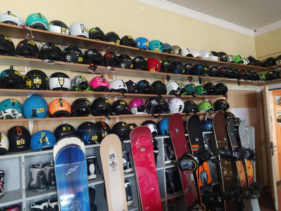 Ski Club Nyonsais - Location de matériels