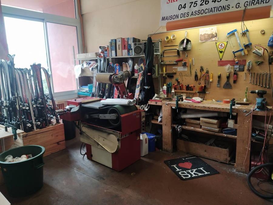 Ski Club Nyonsais - Réparation de matériels